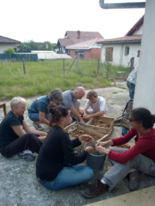 Atelier tri de terre
